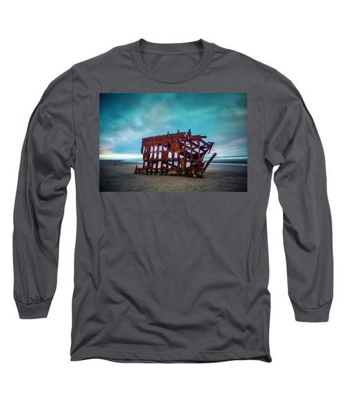 Weathered Rusting Shipwreck Long Sleeve T-Shirt
