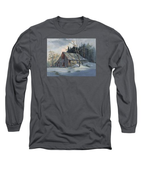Weathered Sunrise Long Sleeve T-Shirt by Michael Humphries