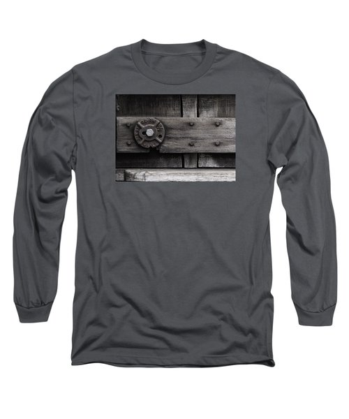 Weathered Wood And Metal Four Long Sleeve T-Shirt