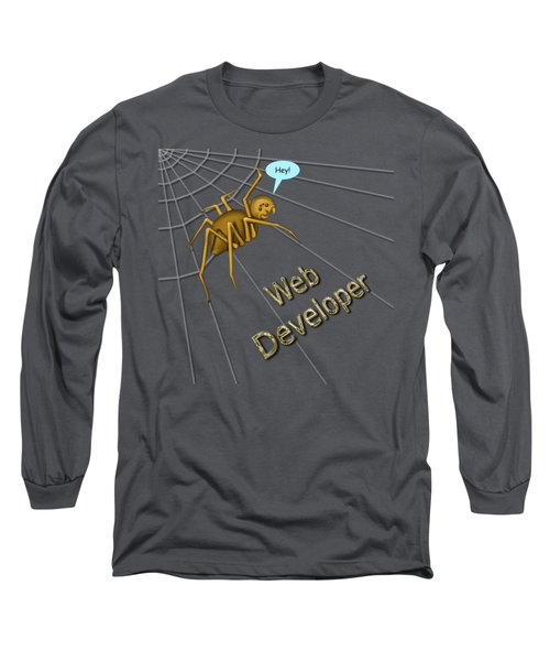 Web Developer Long Sleeve T-Shirt