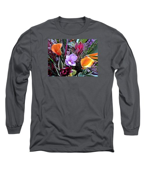Wedding Flowers Long Sleeve T-Shirt by Brian Chase