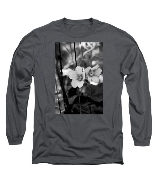 Weeds 1 Long Sleeve T-Shirt by Simone Ochrym