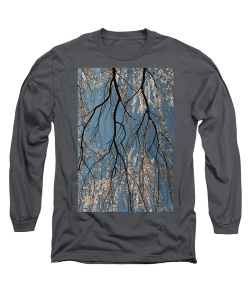 Long Sleeve T-Shirt featuring the photograph Weeping Cherry #2 by Dana Sohr