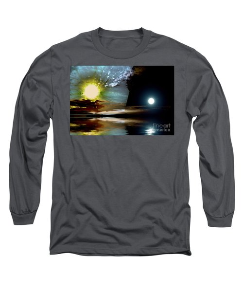 Welcome Beach Day And Night Long Sleeve T-Shirt
