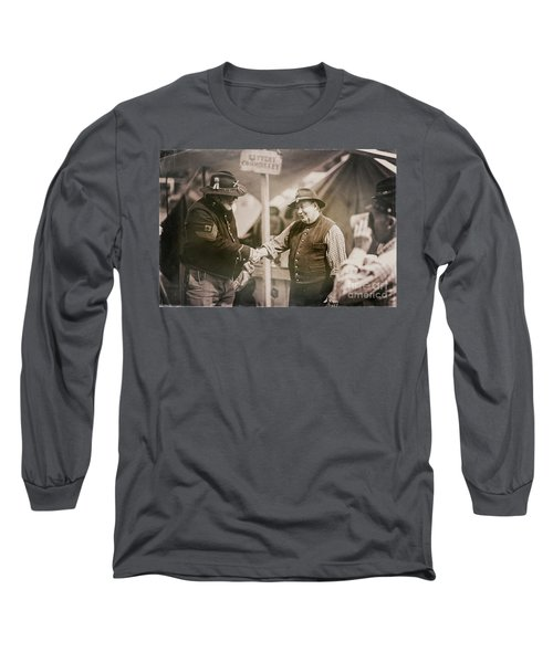 Welcome Doctor Long Sleeve T-Shirt by Randall Cogle