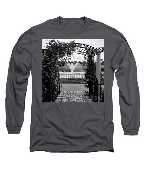 Long Sleeve T-Shirt featuring the photograph Welcome by Robert Knight