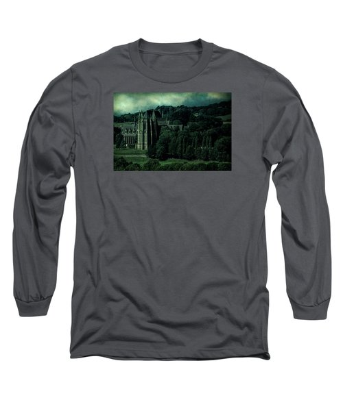 Long Sleeve T-Shirt featuring the photograph Welcome To Wizardry School by Chris Lord