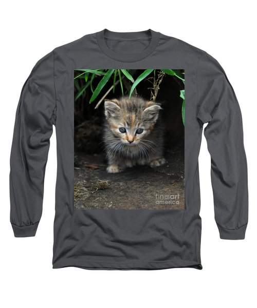 Welcome To The Jungle Long Sleeve T-Shirt by Eric Liller