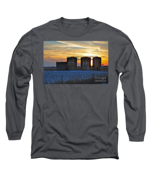 Wellsite Sunset Long Sleeve T-Shirt