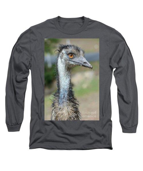 Emu 2 Long Sleeve T-Shirt by Werner Padarin