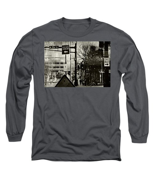Long Sleeve T-Shirt featuring the photograph West 7th Street by Susan Stone