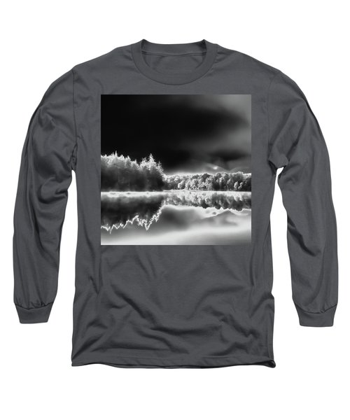 Long Sleeve T-Shirt featuring the photograph West Lake Backlit by David Patterson