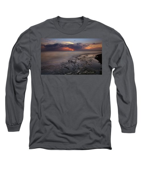 West Oahu Sunset Long Sleeve T-Shirt
