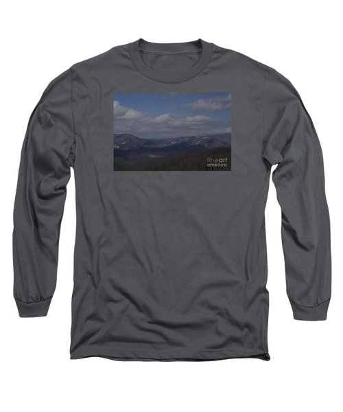 West Virginia Waiting Long Sleeve T-Shirt by Randy Bodkins