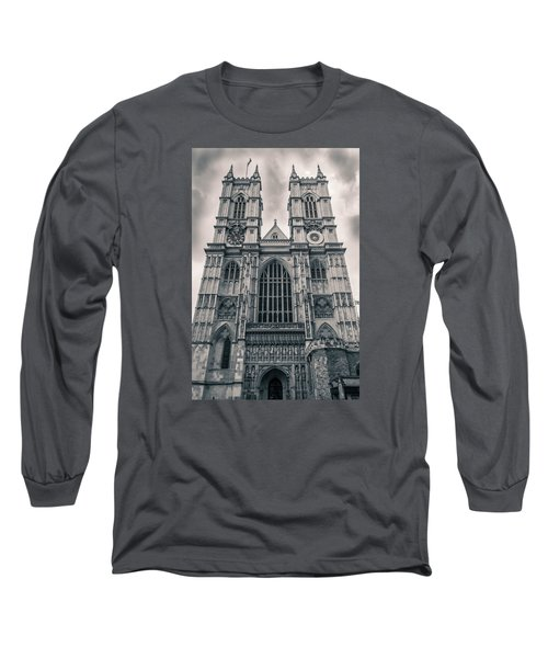 Westminister Abbey Bw Long Sleeve T-Shirt