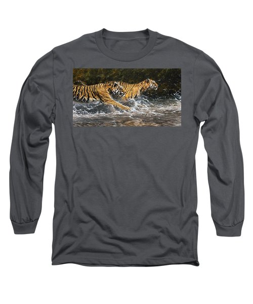 Wet And Wild Long Sleeve T-Shirt