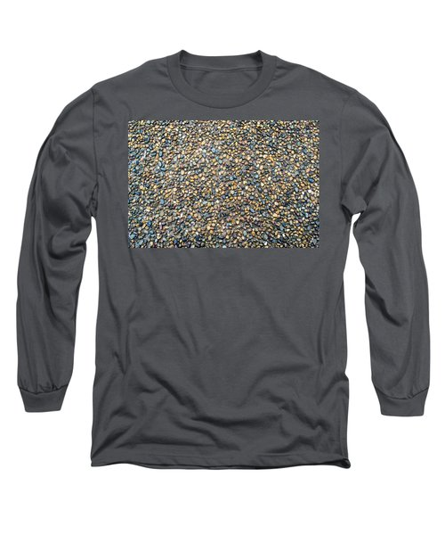 Wet Beach Stones Long Sleeve T-Shirt