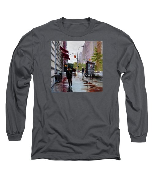 Wet Morning, Early Spring Long Sleeve T-Shirt