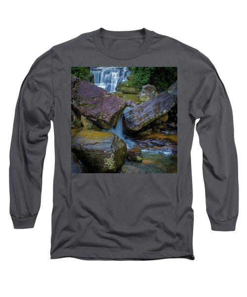 Long Sleeve T-Shirt featuring the photograph Ravana Ella, Sri Lanka, 2012 by Hitendra SINKAR