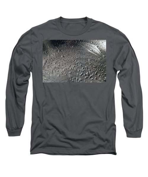 Wet Steel Long Sleeve T-Shirt by Keith Armstrong