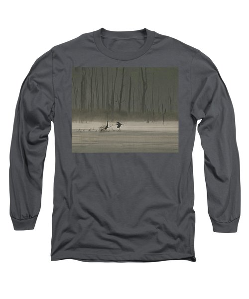 Wetlands Morning Long Sleeve T-Shirt