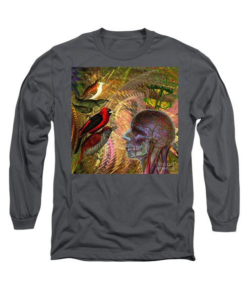 We've Notice A Change In You Long Sleeve T-Shirt by Joseph Mosley