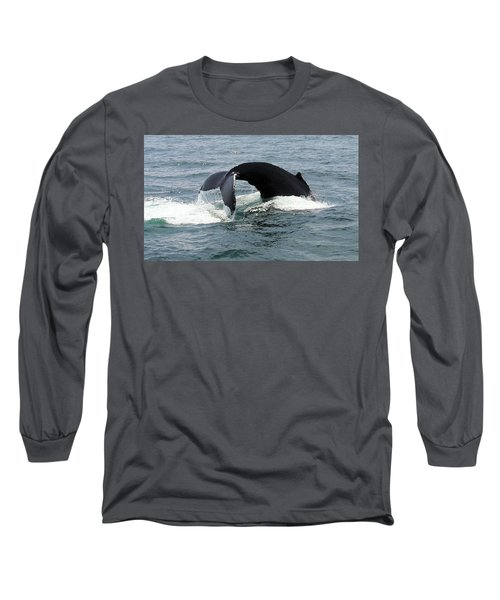 Whale Of A Tail Long Sleeve T-Shirt