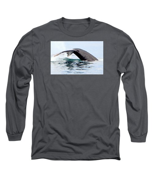 Whale Watch Moss Landing Series 24 Long Sleeve T-Shirt by Antonia Citrino