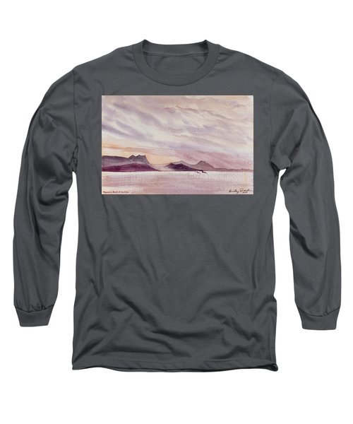 Whangarei Heads At Sunrise, New Zealand Long Sleeve T-Shirt