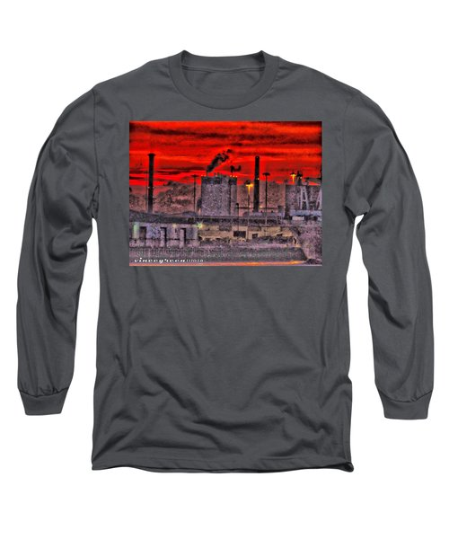 Port Of Savannah Long Sleeve T-Shirt