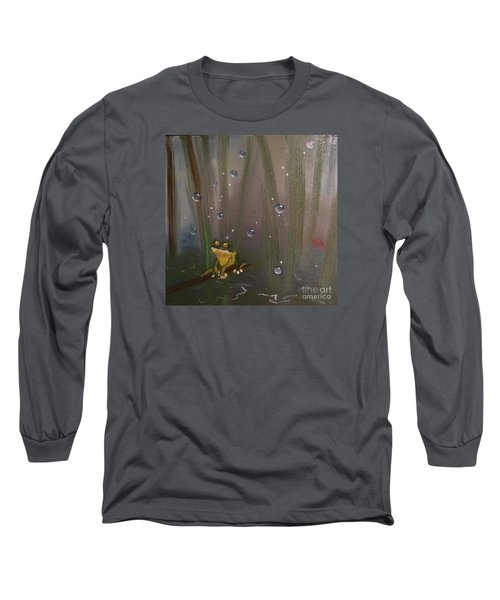 What Long Sleeve T-Shirt by Denise Tomasura