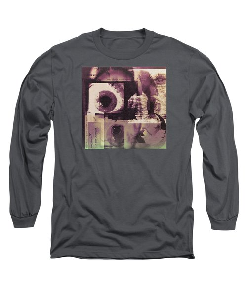 What Does The Eye See Long Sleeve T-Shirt by Cathy Anderson