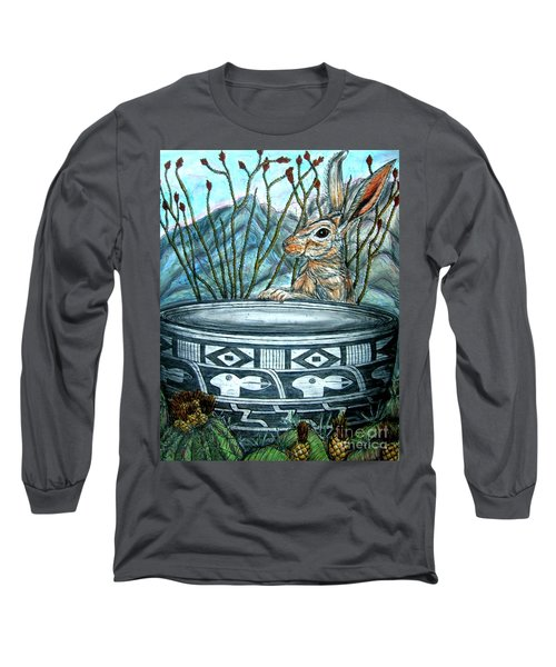 What Have We Here? Long Sleeve T-Shirt by Kim Jones