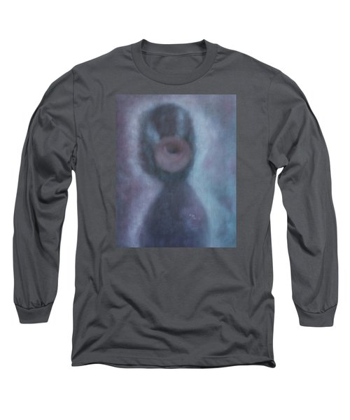 What Is The Human Value? Long Sleeve T-Shirt by Min Zou