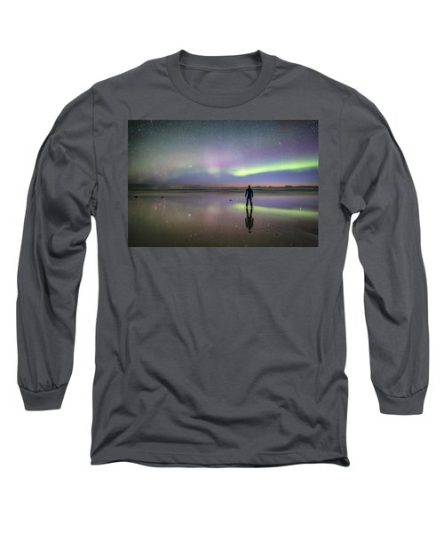 What Is Up And Down? Long Sleeve T-Shirt by Alex Conu