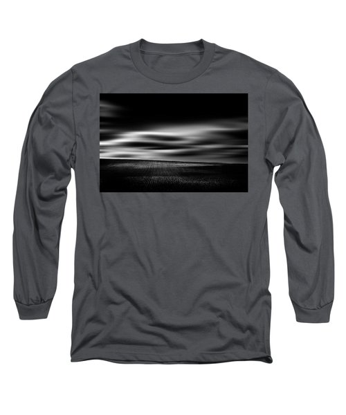 Long Sleeve T-Shirt featuring the photograph Wheat Abstract by Dan Jurak