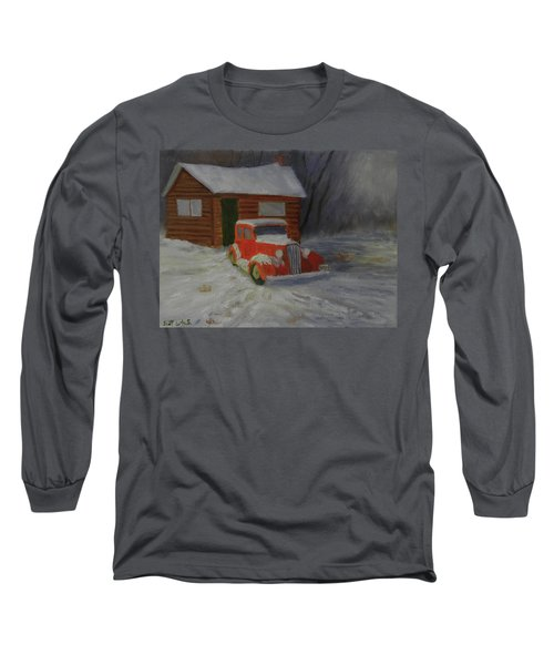 When Cars Were Big And Homes Were Small Long Sleeve T-Shirt