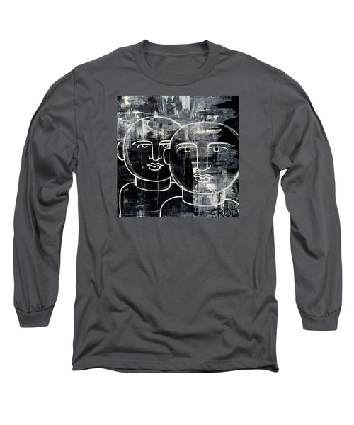 When The Goings Get Tough 50x50 Print By Erod Long Sleeve T-Shirt