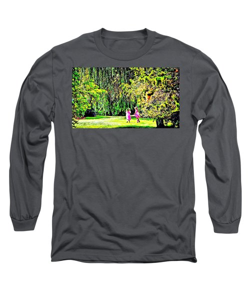 Long Sleeve T-Shirt featuring the photograph When We Were Young II by Barbara Dudley