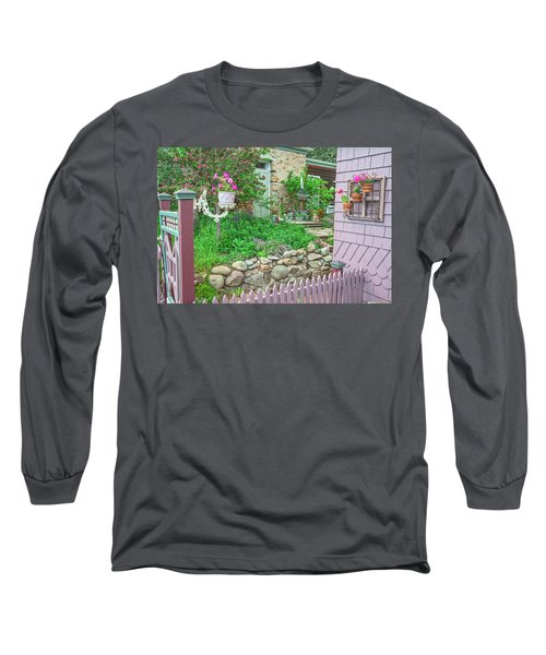 When You're In Idaho Springs, Colorado, Have A Beer With Us In Our Backyard. Cool Your Pipes Here. Long Sleeve T-Shirt