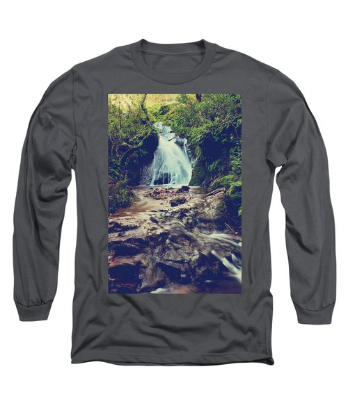 Long Sleeve T-Shirt featuring the photograph Where It All Begins by Laurie Search