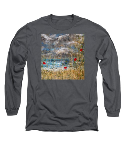 Where Poppies Blow Detail Long Sleeve T-Shirt