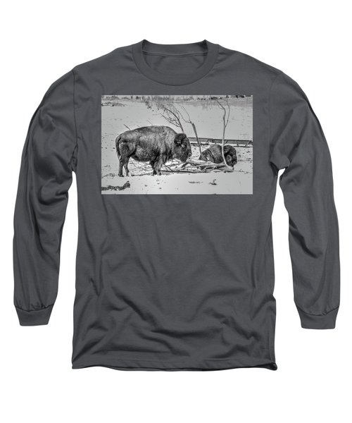 Where The Buffalo Rest Long Sleeve T-Shirt