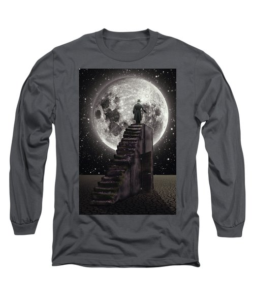 Where The Moon Rise Long Sleeve T-Shirt