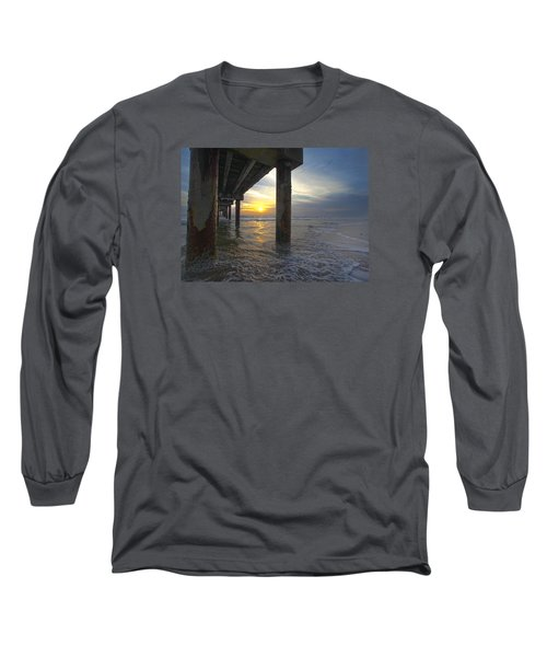 Where The Sand Meets The Surf Long Sleeve T-Shirt
