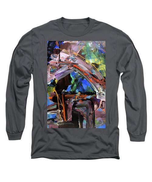Where The Smiles Roam Abstract  Long Sleeve T-Shirt