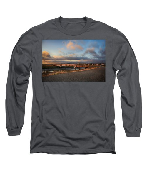 Long Sleeve T-Shirt featuring the photograph Where The Years Behind Are Piled Up High by Laurie Search