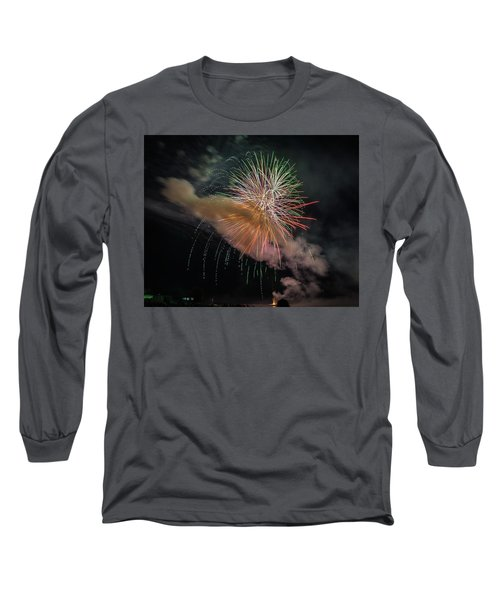 Long Sleeve T-Shirt featuring the photograph Where There's Smoke by Bill Pevlor