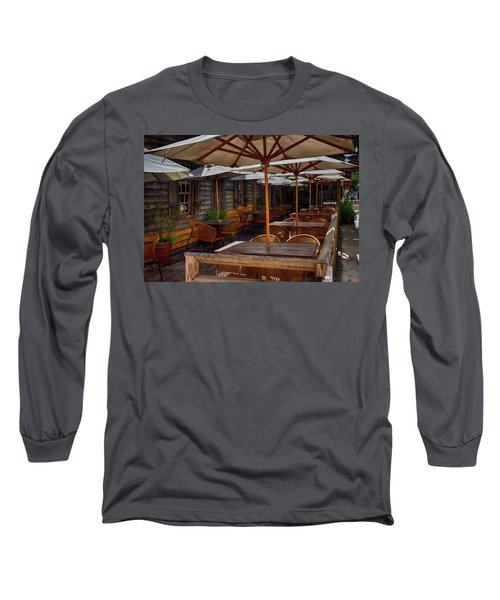 Where To Sit.... Long Sleeve T-Shirt by Tricia Marchlik