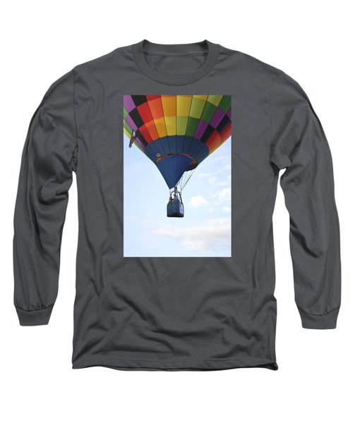 Where Will The Winds Take Us? Long Sleeve T-Shirt by Linda Geiger